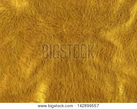 close-up shot of gold leather texture background