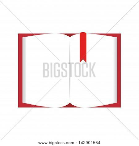 book  notes stationary page office tool utensil handwriting vector isolated illustration