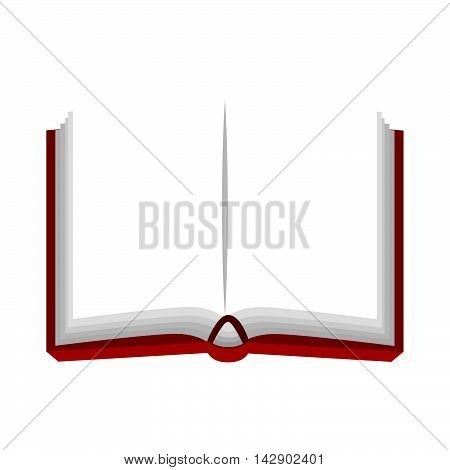 notebook  book  notes stationary page office tool utensil handwriting vector isolated illustration