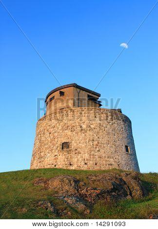 Carlton Martello Tower In Saint John, Nb