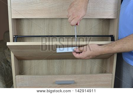 Fixing A Pull With Screwdriver