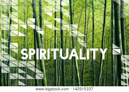 Spirituality Faith Mind Religion Worship Hope Concept