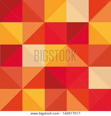 flat abstract square pattern background design vector illustration