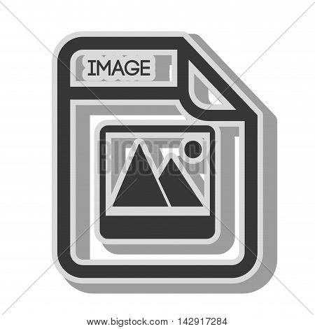 format type file document jpg pdf image red label  picture vector illustration isolated