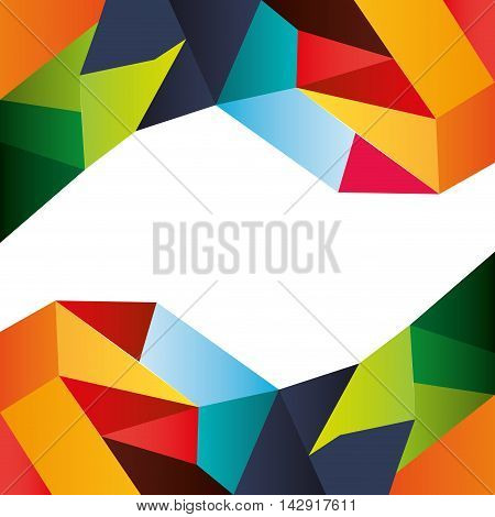 flat abstract pattern background design vector illustration