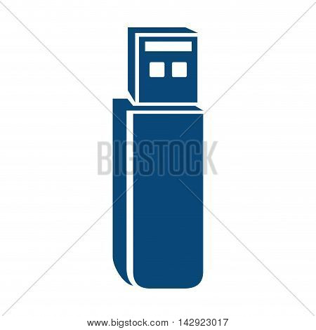 usb device connection data connect disk portable vector graphic illustration