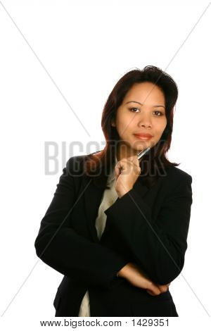 Confident Asian Businesswoman