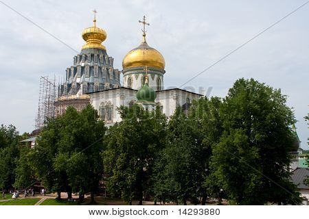 Cupola In New Jerusalem Monastery - Russia