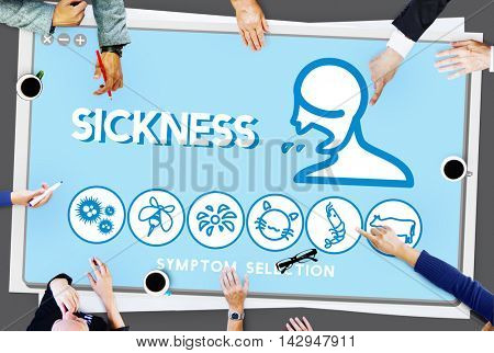 Sickness Allergy Disorder Sickness Healthcare Concept