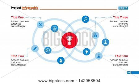 Circular chart. Abstract element of presentation, graph, diagram. Concept for business templates, infographics, reports. Can be used for topics like business strategy, analysis, management
