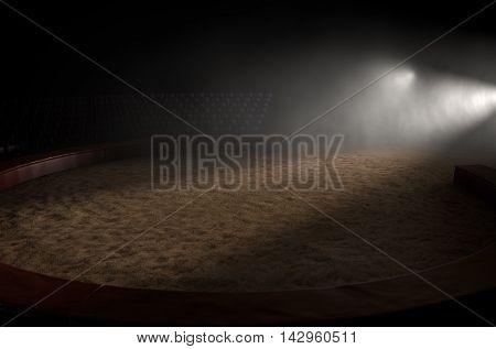 Circus Ring Empty