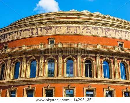 Royal Albert Hall In London Hdr
