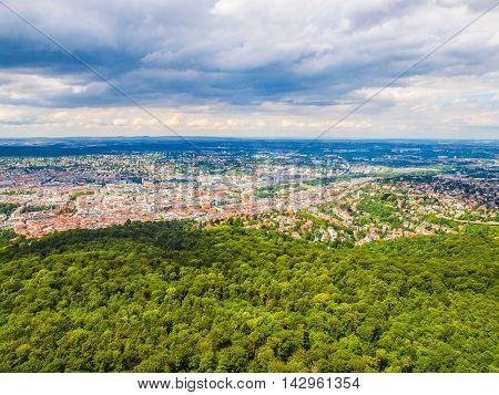 Stuttgart, Germany Hdr