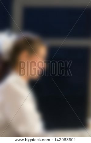 Drama Theater play theme creative abstract blur background with bokeh effect