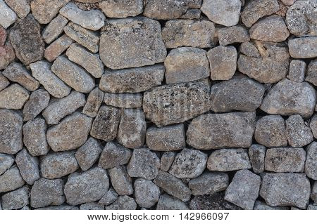 Part of a stone wall as background.