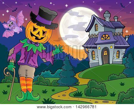 Halloween theme figure image 4 - eps10 vector illustration.