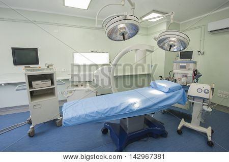 Operating Room In A Hospital Medical Center