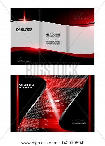Multipurpose Tri-fold Brochure and Catalog Vector Design