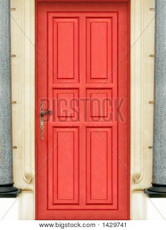 Magic Red Door - Entire Door - Very High Definition