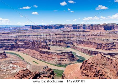 Dead Horse Point Overlook in Utah North America
