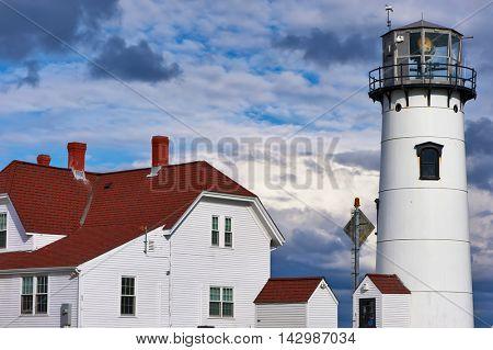 Chatham Lighthouse, built in 1808, Cape Cod, Massachusetts