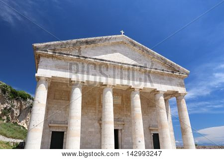 Corfu Town - Saint George Temple