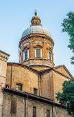 Постер, плакат: Chiesa Della Madonna Del Voto Church Of Modena Italy