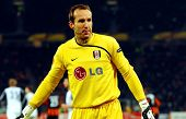 DONETSK, UKRAINE - FEB 25: Mark Schwarzer in match UEFA Europa League between FC Shakhtar(UKR) vs. F