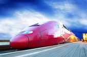 pic of high-speed train  - High - JPG