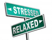 stress therapy and management helps in relaxation reduce tension and relief negativity become relaxe poster