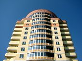 picture of vinnitsa  - A modern apartments building viewed from an vinnitsa - JPG