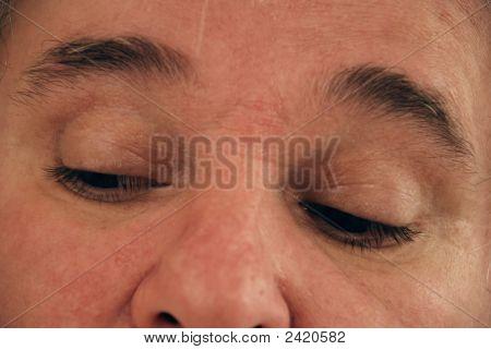 Baby-Boomer Man Eyes