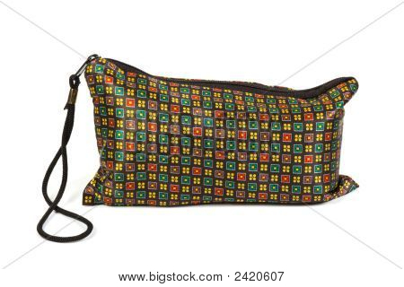 Reticule With Abstract Pattern