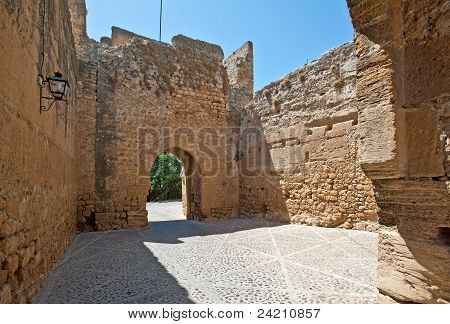 Ancient Moorish Gate, Spain