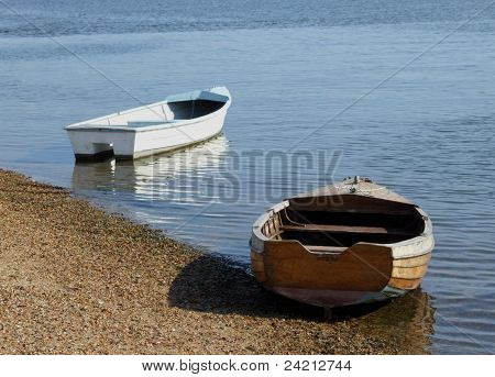 Seaside Row Boats