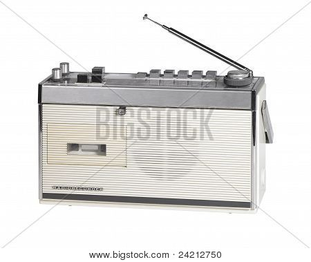 Nostalgic White Radio