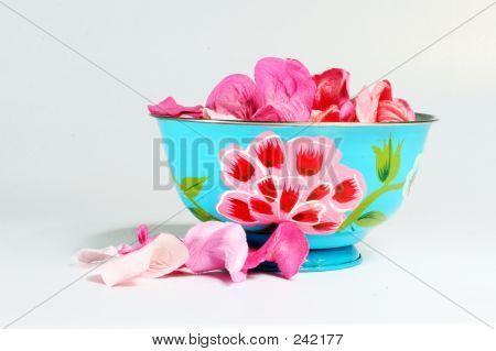 Bowl With Petals