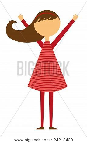 girl cartoon