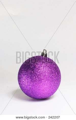 Purple Bauble