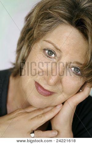 Beautiful senior lady portrait