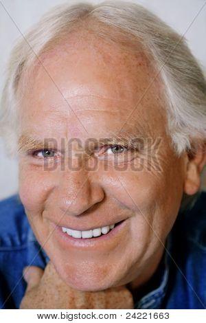 Attractive mature man portrait