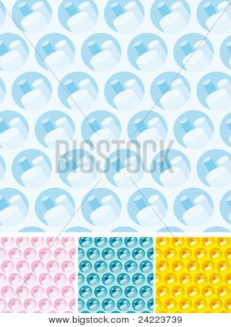Set of Abstract seamless backgrounds