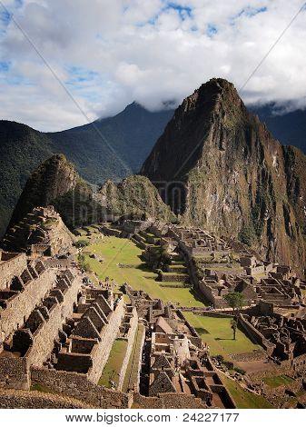 Famosa ciudad Inca de Machu Picchu