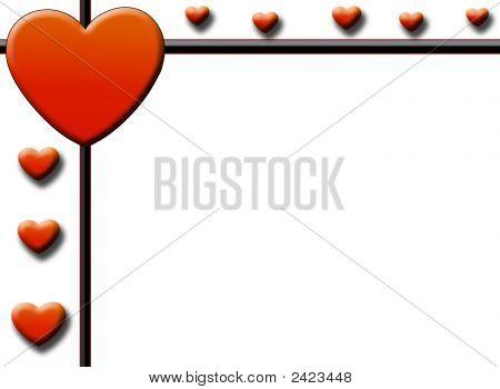 Valentine'S Page Border