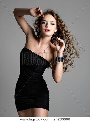 Beautiful Sexy Glamour  Woman
