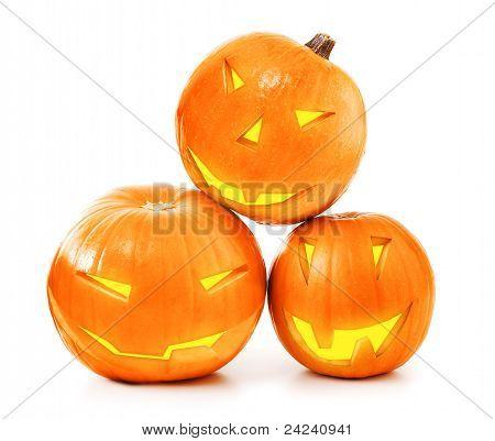 Halloween Pumpkins Glow
