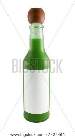 Hot Sauce Bottle