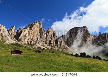 Dolomites In Badia Valley