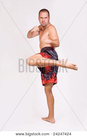 Luchador Muay Thai