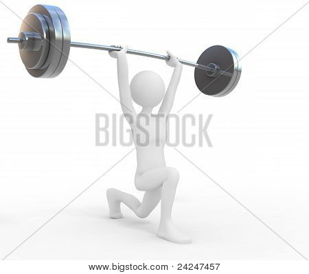 Powerful Weightlifter